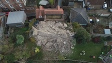 500 tons of stone collapses at Lewes Castle