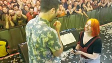 Bristol woman proposes to boyfriend on stage in front of thousands of people