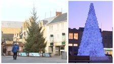 Mixed reaction to Peterborough's Christmas tree