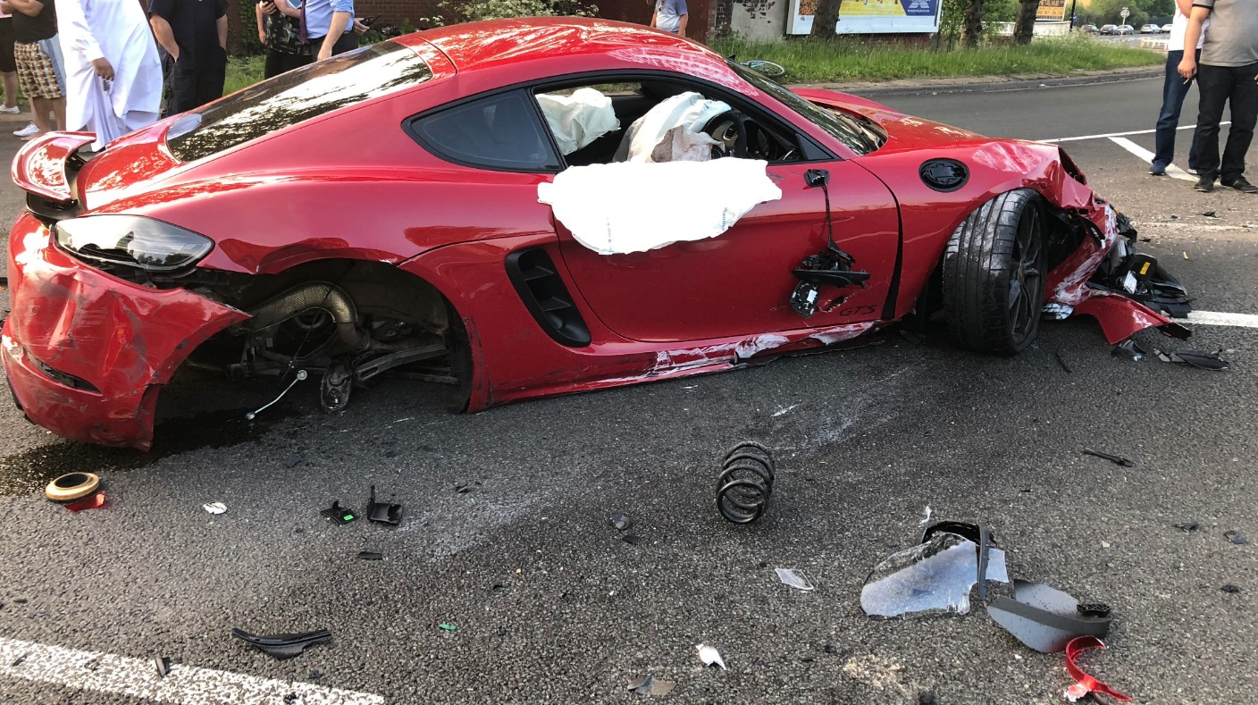 Supercar Drivers Who Collided In Sheffield Found Guilty Of