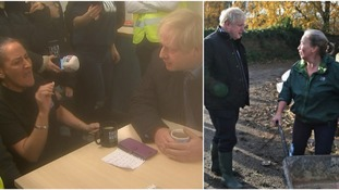 'We're still waiting, Boris': Prime Minister confronted as he visits flood-hit Yorkshire