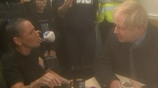 'We're still waiting, Boris': PM confronted in flood-hit Yorkshire
