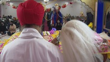 Sikh community celebrate 550th anniversary of founder of Sikhism Guru Nanak