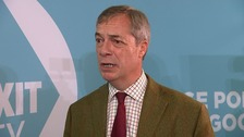 Farage: 'Extraordinary... levels of abuse' suffered by candidates