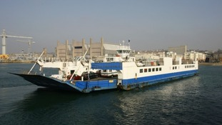 The Torpoint ferries run between Devonport in Plymouth and Torpoint in Cornwall.