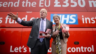 Critics of Mr Johnson regularly highlight the bus he used during the 2016 EU referendum, when touring the country for the Vote Leave campaign.