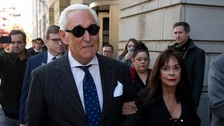 Trump ally Roger Stone guilty of witness tampering