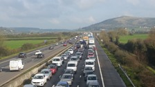 M5 traffic: Southbound route re-opens following two hours delays