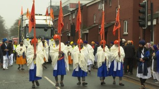 Midlands joins worldwide celebration for 550th birthday of founder of Sikhism