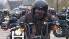 Bikers gather to back Dunn's family fight for justice