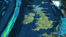 Monday's weather: Fine and dry with plenty of sunshine
