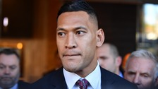 Folau claims Australia wildfires a 'little taste of God's judgement'