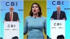 Party leaders in bid to woo UK business leaders