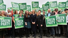 Greens launch manifesto with promise of £100bn a year to tackle climate change