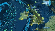 Tuesday's weather: A chilly start for many