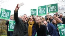 Greens promise £100bn a year to tackle climate change