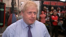 Boris Johnson: We will come down hard on the scourge of knife crime