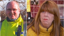 'I wish I'd held him longer that night': Widow of police officer killed in Cumbria floods