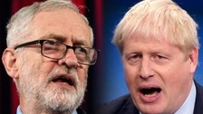 Johnson v Corbyn debate head-to-head on ITV