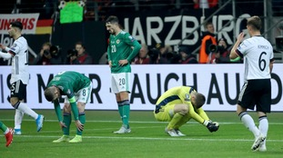 'Tough night' for NI despite shock lead against Germany