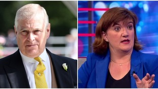 Nicky Morgan: 'I would expect' Prince Andrew to stand down from charity positions