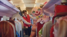 Mr Blobby helps Virgin bid goodbye to West Coast Main Line