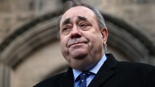 Salmond in court charged with rape attempt and sexual assaults