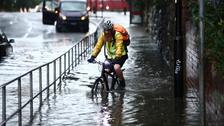 Yellow weather warnings issued ahead of wet weekend