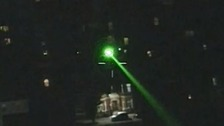 Man from Bedford jailed for shining laser at police helicopter