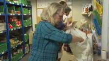 The foodbank bringing extra Christmas cheer to disadvantaged families