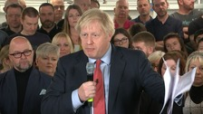 Boris Johnson says 'all wings' of Tories want 'to get Brexit done'