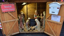 Baby Jesus stolen from church's charity nativity scene