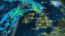 UK weather: Dry and mild winter day for most