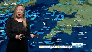 UK Weather forecast: Fairly settled conditions for the South West today but turning wet and windy later.