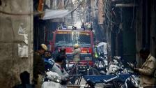 New Delhi factory fire kills at least 43
