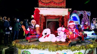 Battle of Flowers Christmas Parade
