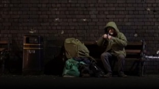 Banksy said the homeless man in his video was called Ryan.