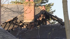 Family and their seven dogs rescued from bungalow fire