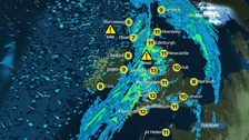 Windy and a washout with colder temperatures to come