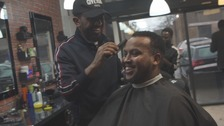 From the barber chair: The men making their voice heard