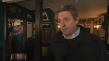 Why actor Hugh Grant was campaigning in Devon