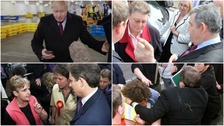 Election defining moments after Boris Johnson avoids hospital boy photo