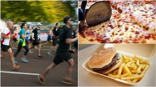 How much exercise you'd need to do to burn off your favourite foods