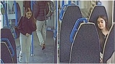 Missing 13-year-old girl caught on CCTV catching train