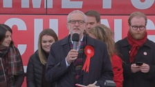 Campaign Live: Jeremy Corbyn addresses a rally in Middlesbrough