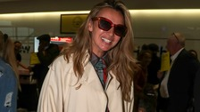 Back from the jungle I'm a Celebrity stars touch down in London