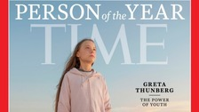 Greta named Time magazine's 2019 Person of the Year