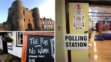 Where are the oddest places you can vote in the general election?