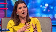 Swinson insists Lib Dems will never 'put Johnson or Corbyn in Number 10'