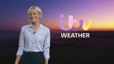 Wales Weather: A wet and windy day!